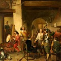 Soldiers In A Tavern During The Thirty Years by Reinier Craeyvanger