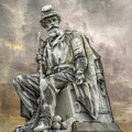 Soldiers National Monument War Statue Gettysburg Cemetery  by Randy Steele