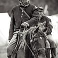 Solider On Horseback by Rainbeau Decker