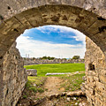 Solin Ancient Arena Old Ruins by Brch Photography