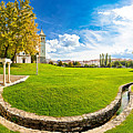 Solin Park And Church Panoramic View by Brch Photography