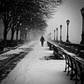 Solitary Man In The Snow by Debra Banks