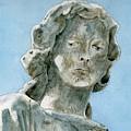 Solitude. A Cemetery Statue by Brenda Owen