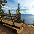 Solitude At Crater Lake by Adam Jewell