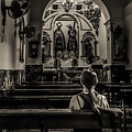 Solitude In Village Church by Peter Hayward Photographer