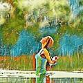 Solo Splash by Ellen Cannon