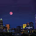 Solstice Strawberry Moon Charlotte, Nc by Randy Hargett