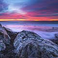 Solstice Sunrise At Jennes Beach by Humble Valley Photography