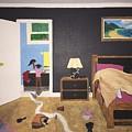 Someone's Awake by Barbara Evans
