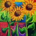 Sonflowers II by Holly Carmichael