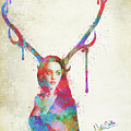 Song Of Elen Of The Ways Antlered Goddess by Nikki Marie Smith