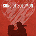 Song Of Solomon Books Of The Bible Series Old Testament Minimal Poster Art Number 22 by Design Turnpike