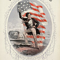 Song Sheet Cover, 1861 by Granger