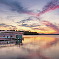 Songo River Queen Sunset by Darylann Leonard Photography