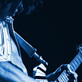 Sonic Blue Guitar Explosions by Ben Upham