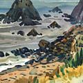 Sonoma Coast by Donald Maier