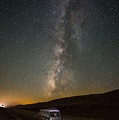 Sonora The Vw Bus Under The Milky Way by Richard Kimbrough