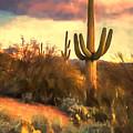 Sonoran Desert Morn by Susan Rissi Tregoning