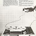 Sony Vintage Advert by Georgia Fowler