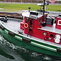 Soo Tug Boat by Jennifer Englehardt