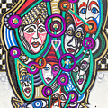 Sooooooo Many Faces by Laurel Rosenberg