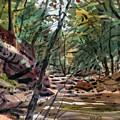 Sope Creek Three by Donald Maier