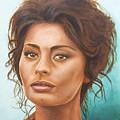Sophia Loren by Rob De Vries