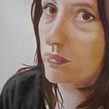 Sophie In The Kitchen by Sandrine Pelissier