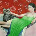 Sorcerer And Her Cat by Lian Zhen