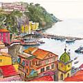 Sorrento Harbour by Dai Wynn