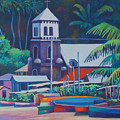 Soufriere Church Tower by Glenford John