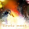 Souls Meet by Barbara Hebert