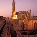 Sound And Light Show At Jerusalem City by Richard Nowitz
