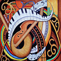 Sound Of Soul Strings by Marcella Muhammad
