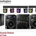 Sound System Rental Dubai - Rent,lease,hire Sound System Dubai by Vrscomputers