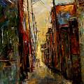 Sounds In The Alley by Debra Hurd