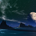 South Atlantic Ocean 2 by Heinz G Mielke