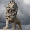 South Bank Lion.  by Christopher Rowlands