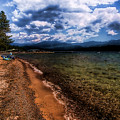 South Beach At Priest Lake by David Patterson