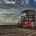South Beach Lifeguard Station 004 by Lance Vaughn