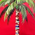 South Beach Palm II by Kristen Abrahamson