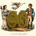 South Carolina State Arms Of The Union by Celestial Images
