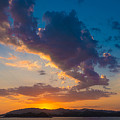 South China Sea Sunset by Judith Barath