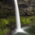 South Falls In Silver Falls State Park by John McGraw