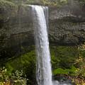 South Falls Of Silver Creek II by Albert Seger