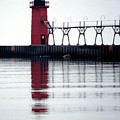 South Haven Reflection by Kenneth Campbell