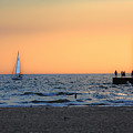 South Haven Sunset by Mauverneen Blevins