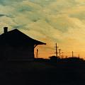 South Holland Train Station by Rachel Christine Nowicki