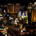 South Las Vegas Strip by James Marvin Phelps