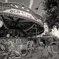 South London Carousel by Les Goldberg
